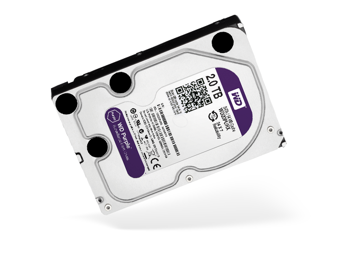 Hard Disk WD Purple for NVR DVR