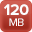120MB maximum incoming bandwidth