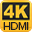 4K HDMI  monitor output